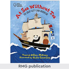 At sea without tea front cover