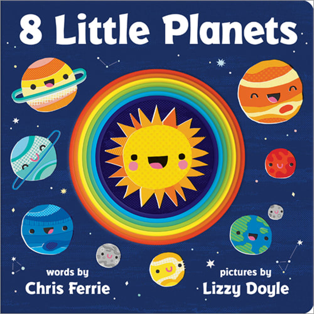 8 Little Planets Board Book