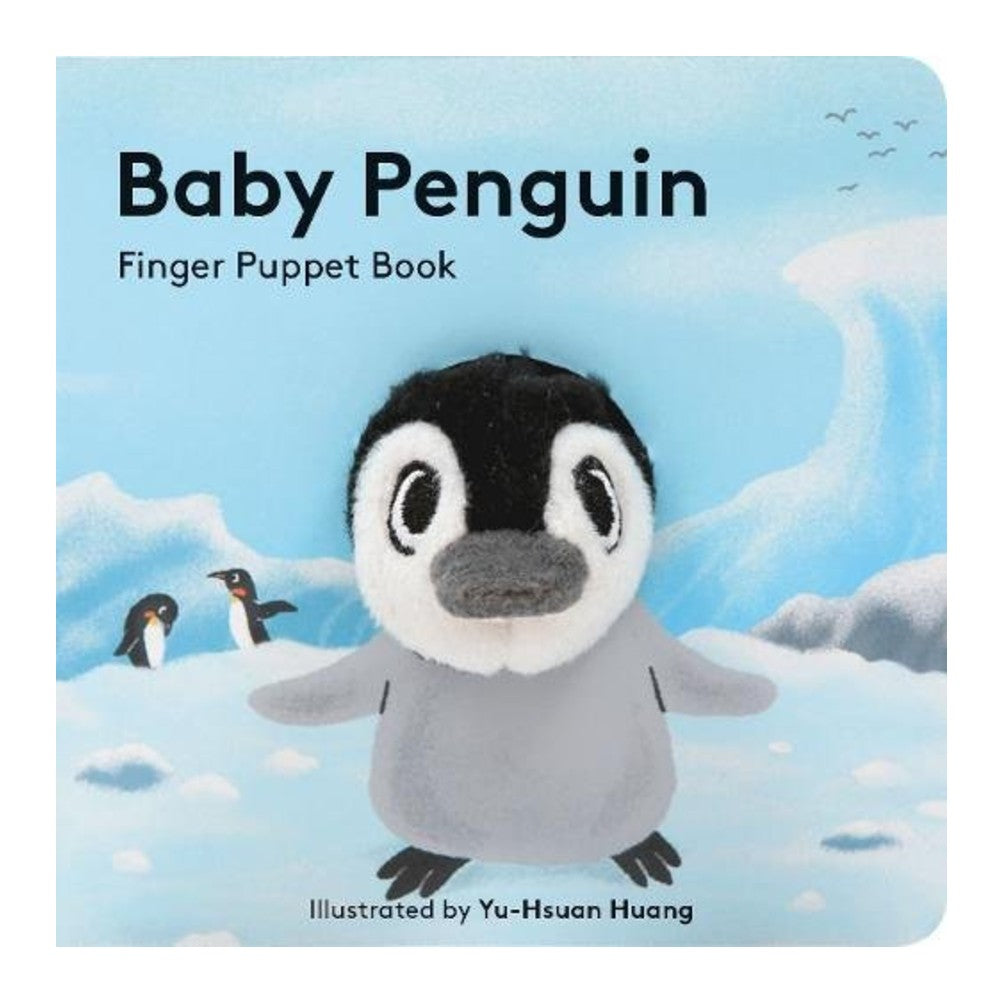 Baby Penguin Finger Puppet cover