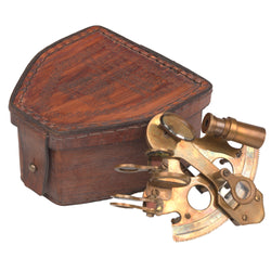 Sextant in Leather Case