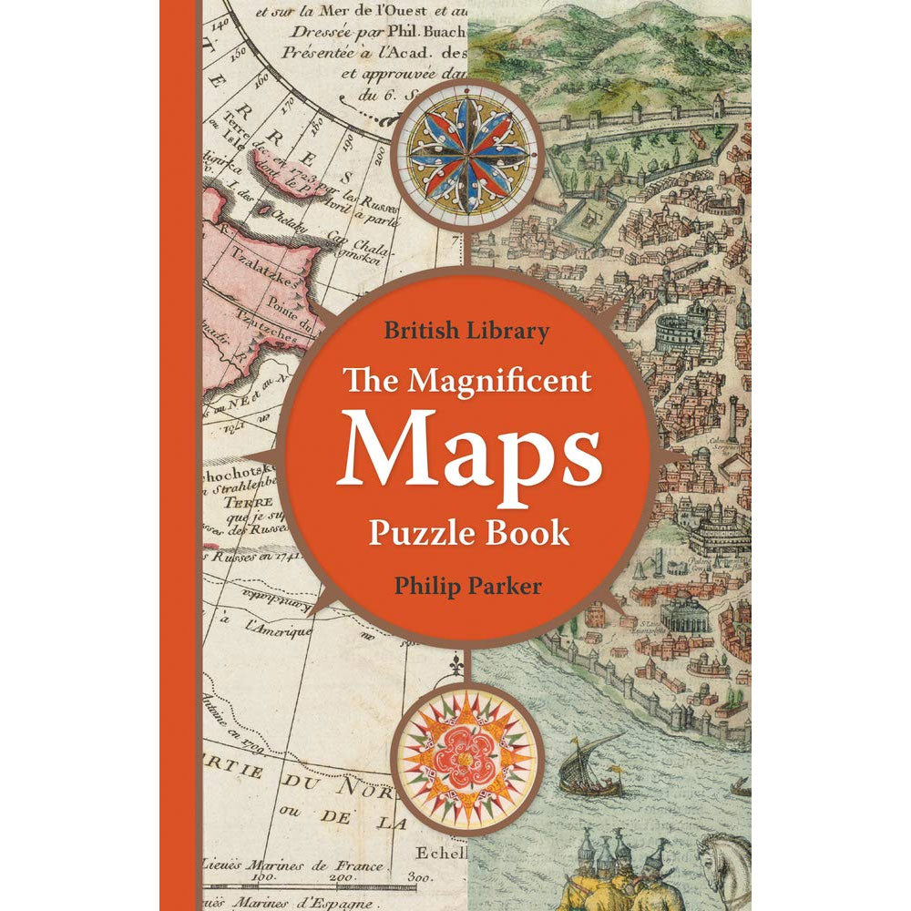 Magnificent Maps Puzzle Book