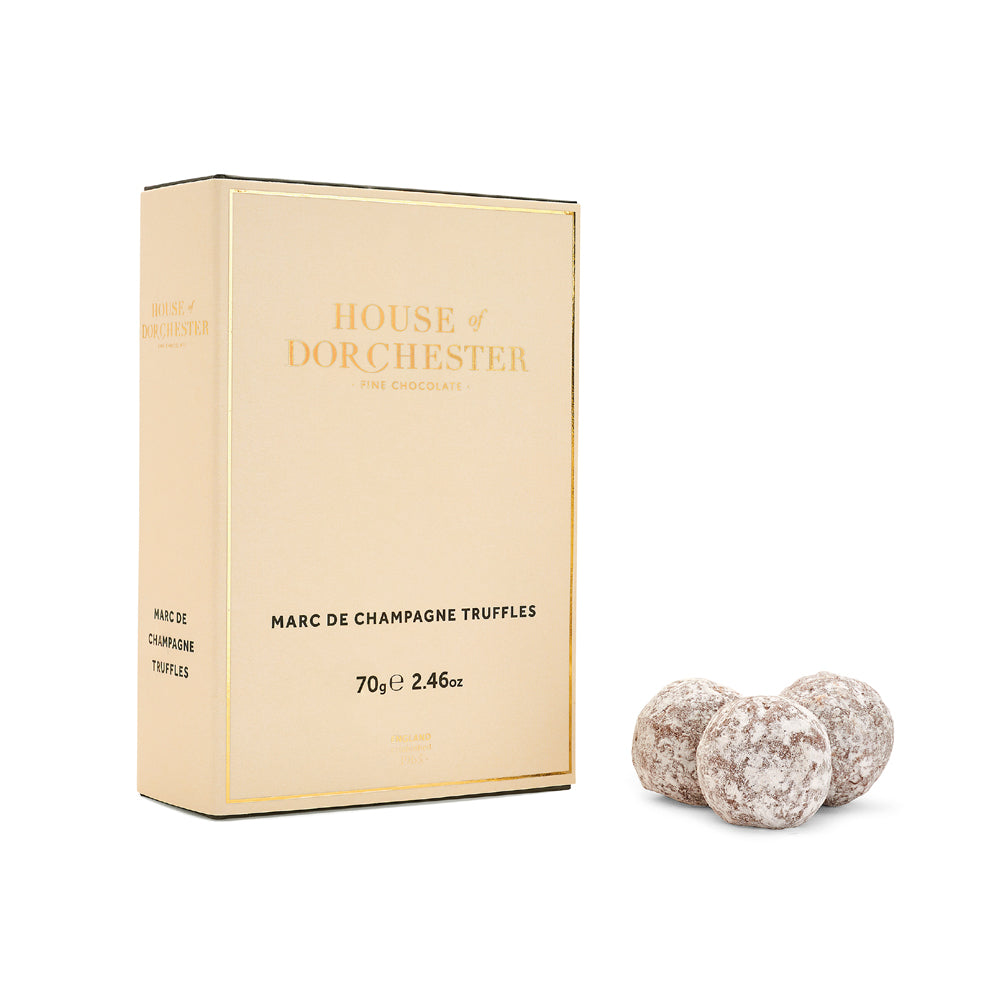 House of Dorchester Marc de Champagne chocolate truffles