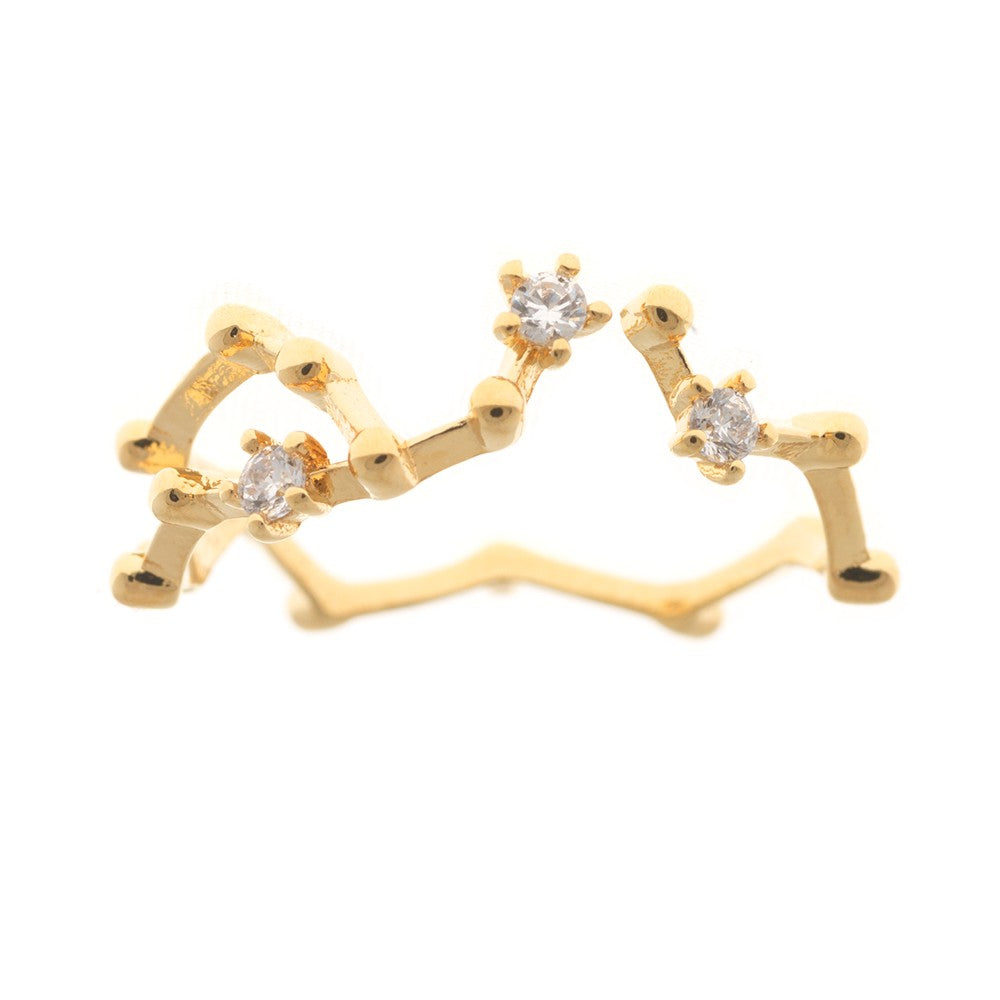 Gold Constellation Ring