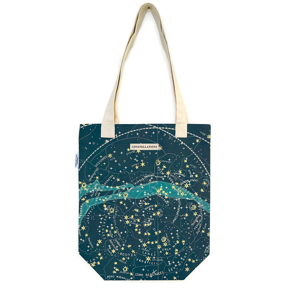 Celestial Cotton Tote Bag