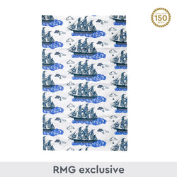 Floral Cutty Sark Tea Towel