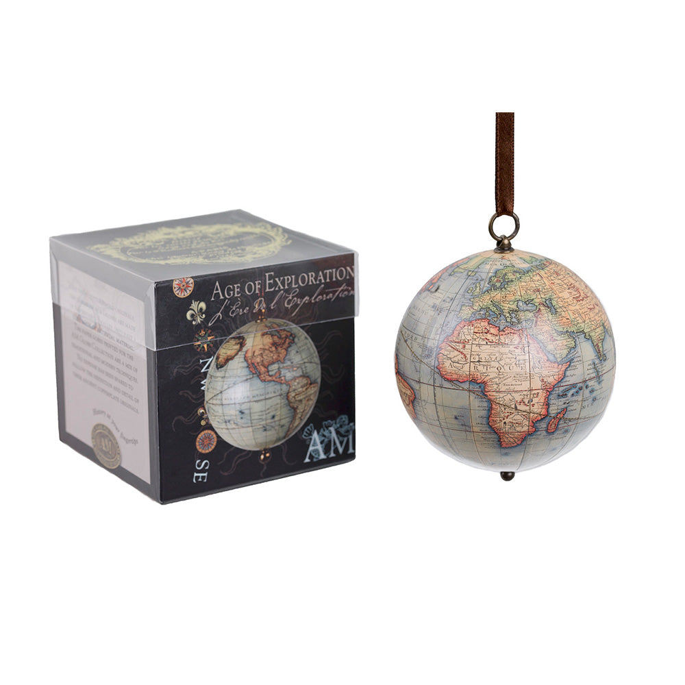 Boxed Exploration Globe