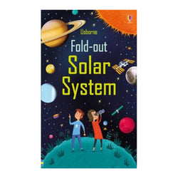 Fold-Out Solar System childern's book