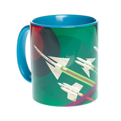 Grand Tour NASA Blue Mug