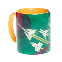 Grand Tour NASA Yellow Mug