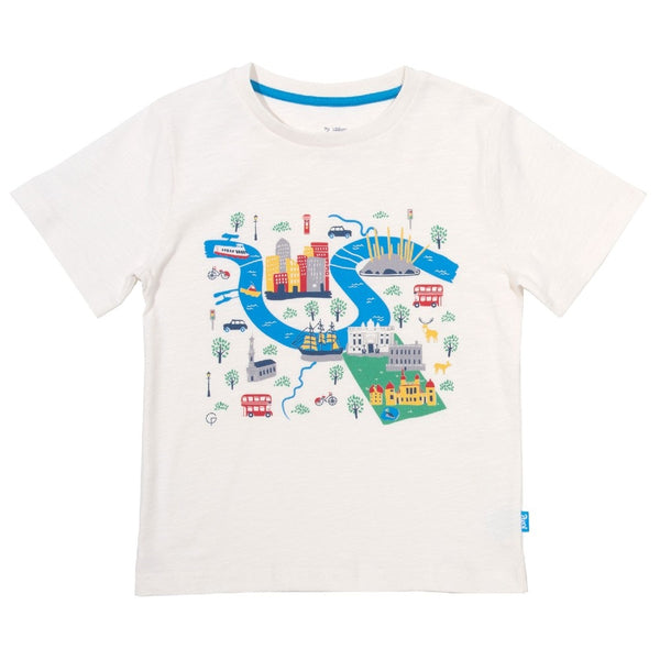 Organic Cotton Kids Greenwich T-Shirt