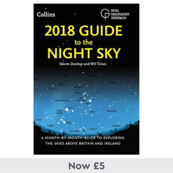 Royal Observatory Greenwich Guide To the Night Sky Book