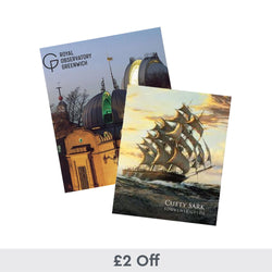 2 Royal Museums Greenwich Guidebooks for £10