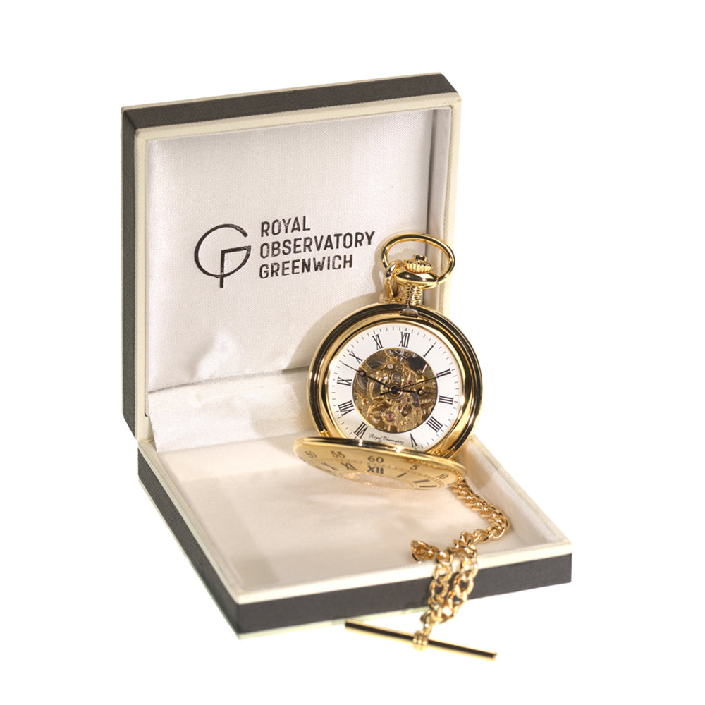 Harrison's H4 Inspired Gold Pocket Watch