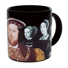 Henry VIII and his six wives colour changing mug