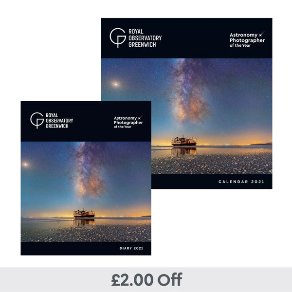 2021 Astronomy Photography Calendar & Diary Set
