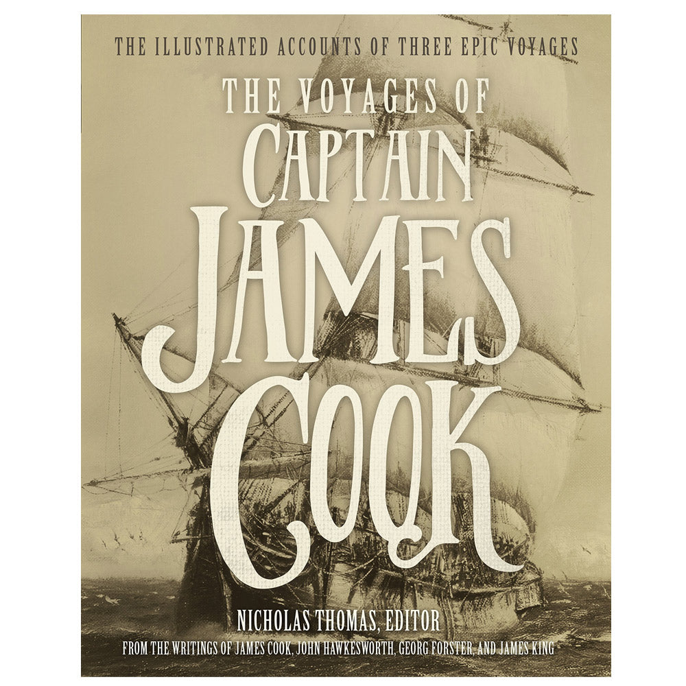The illustrated voyages of Captain James Cook book