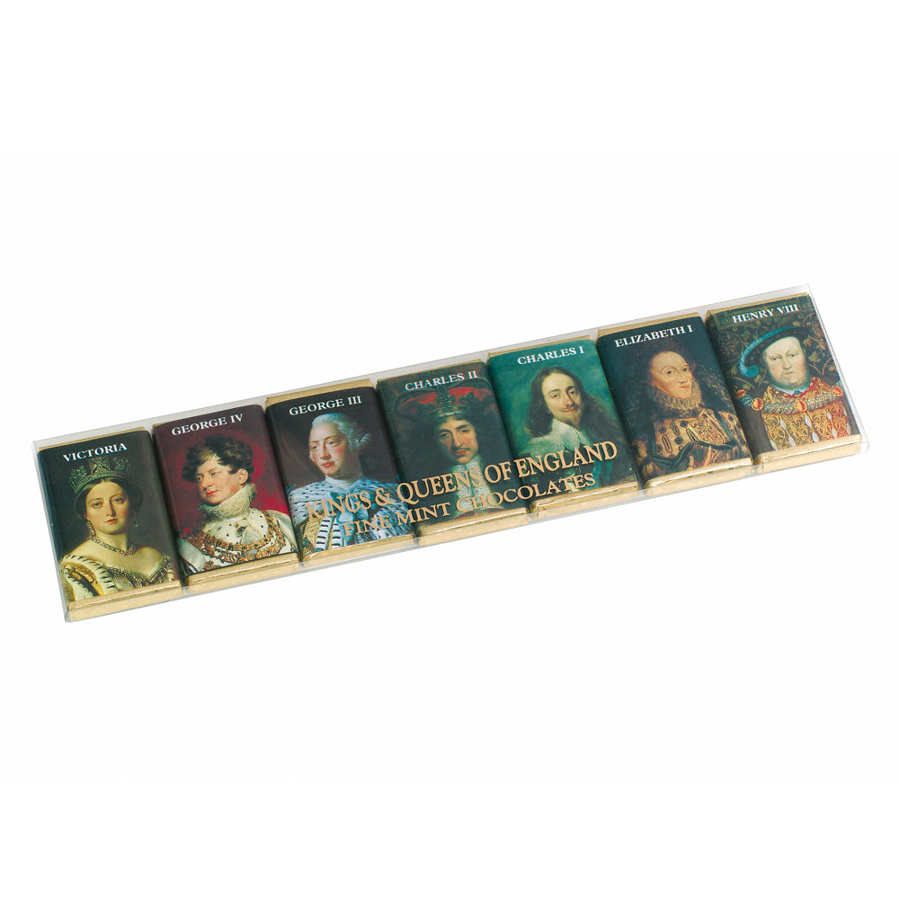 British Kings & Queens Mint Chocolates