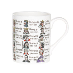 British Kings & Queens Mug