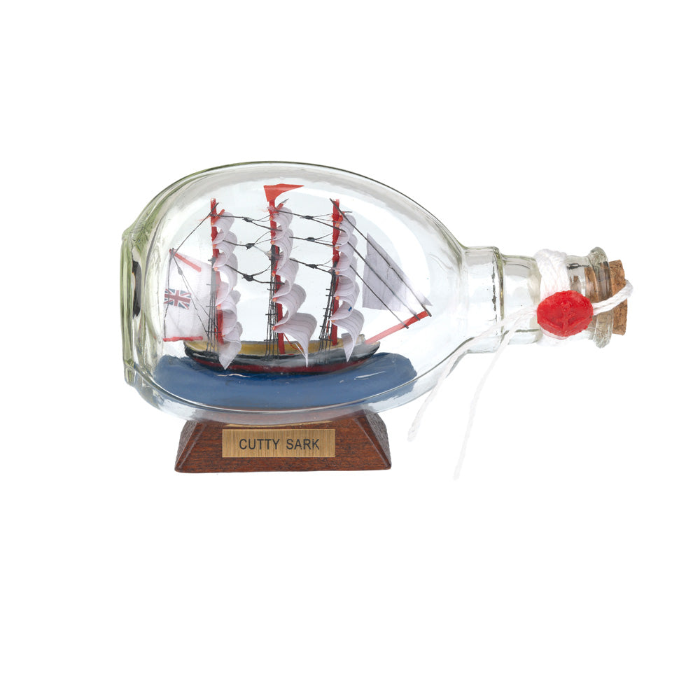 Large Cutty Sark Ship In A Bottle