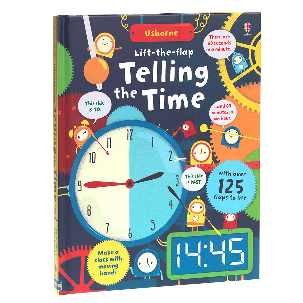 Lift the Flap Telling the Time children's book