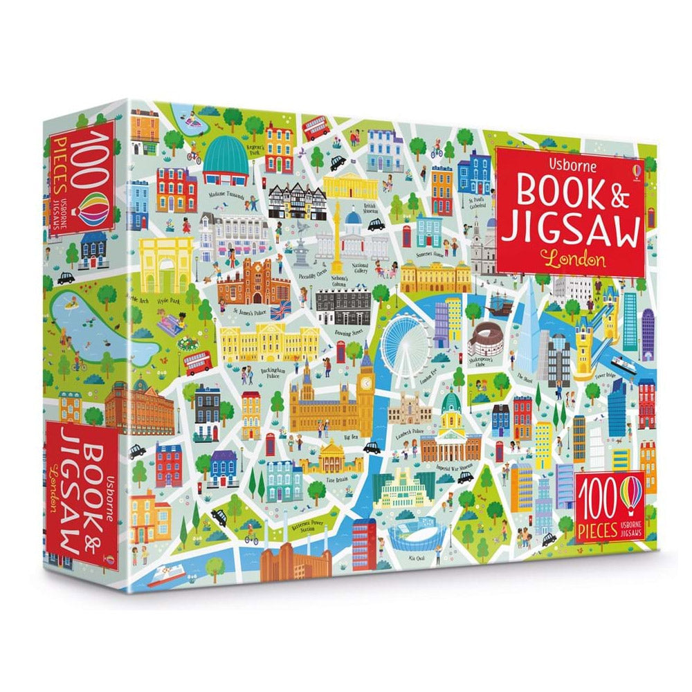London Jigsaw Map and Book