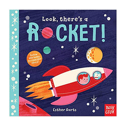 Look There's a Rocket Board Book
