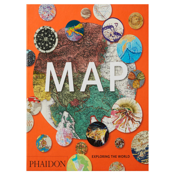 Map - Exploring the World (Midi) by Phiadon Editors cover
