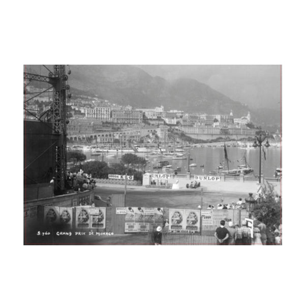 Monaco Grand Prix Greetings Card