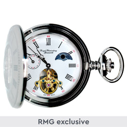 Royal Observatory Greenwich Moondial Pocket Watch