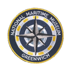 National Maritime Museum Compass Embroidered Badge