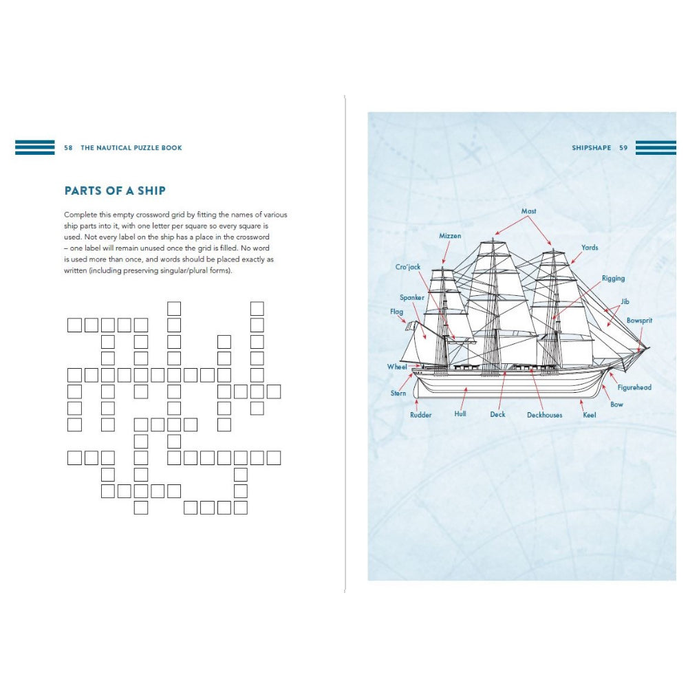 The Nautical Puzzle Book by Dr Gareth Moore