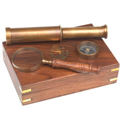Navigational Instruments Boxed Gift Set
