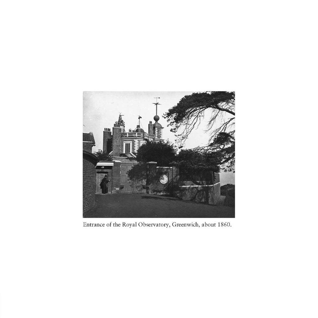 Black and white photo Royal Observatory Greenwich