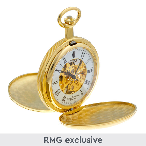 Gold Twin Lid Pocket Watch
