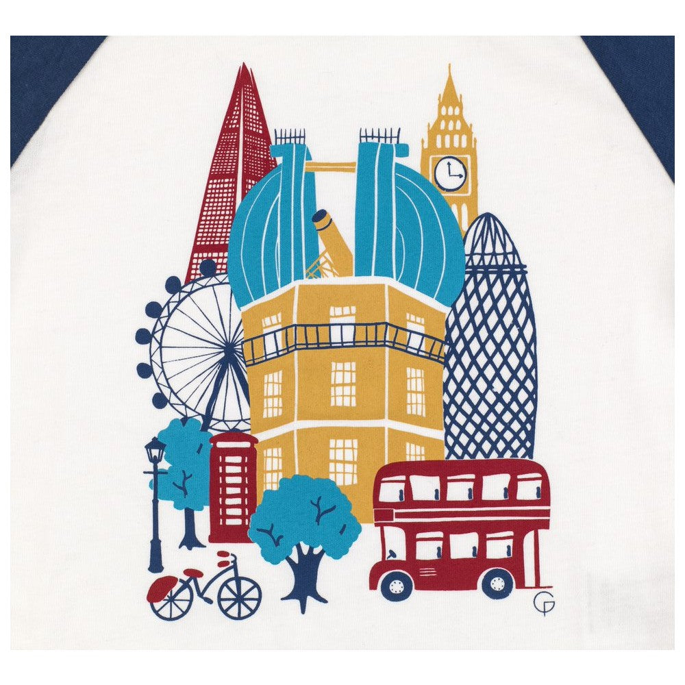 Organic Cotton Royal Observatory Top print
