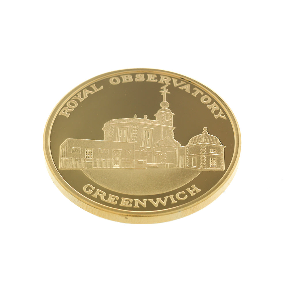 Royal Observatory Medallion showing buildings