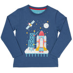 Organic Cotton Rocket Launch Long Sleeved Top