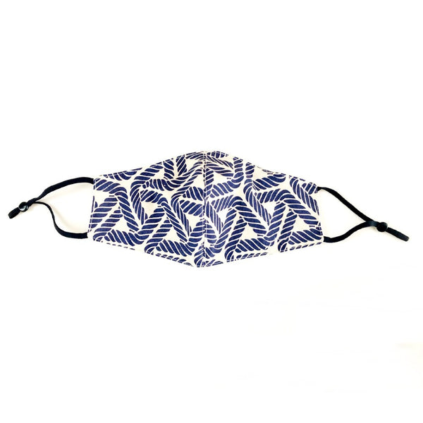100% Cotton Face Mask Nautical Design
