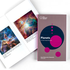 Royal Observatory Greenwich Illuminates: Planets by Dr Emily Drabek-Maunder inside pages showing nebula
