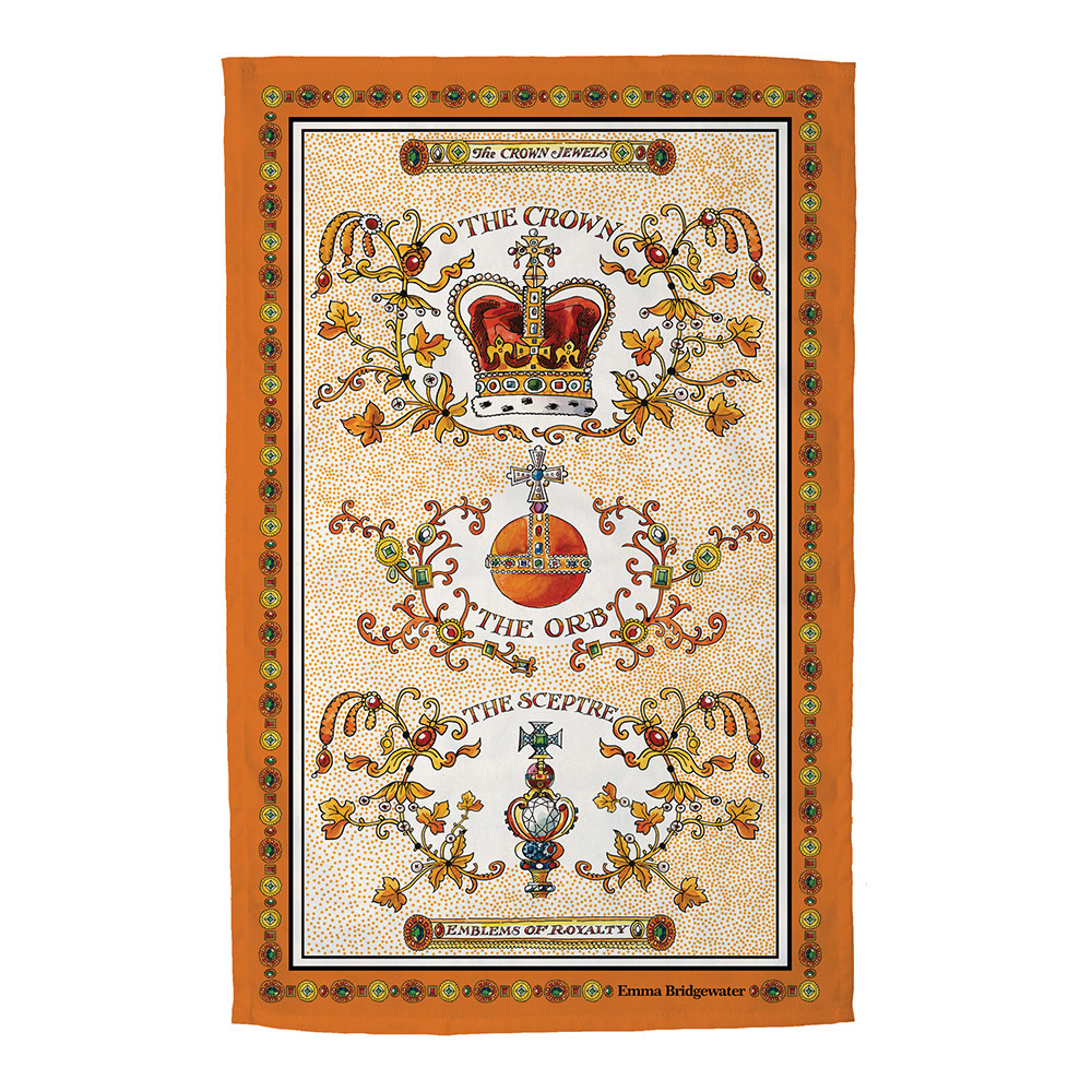 Emma Bridgewater Crown Jewels Tea Towel
