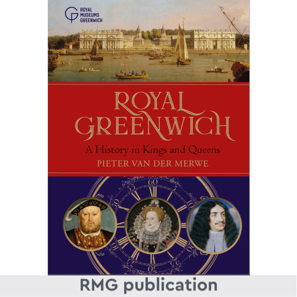 Royal Greenwich History Cover blue and red
