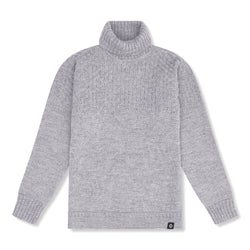 Shackleton Signature Jumper Steel Grey