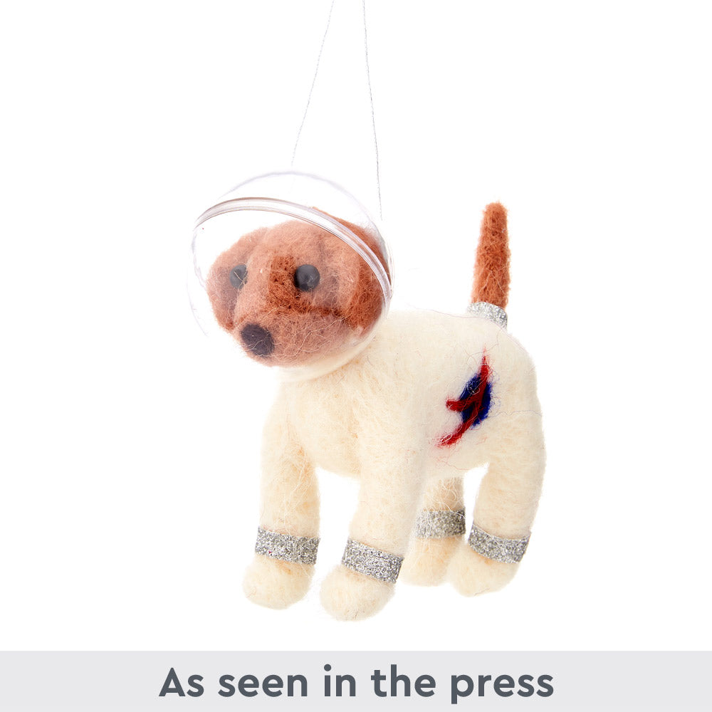 Space Dog Christmas Decoration