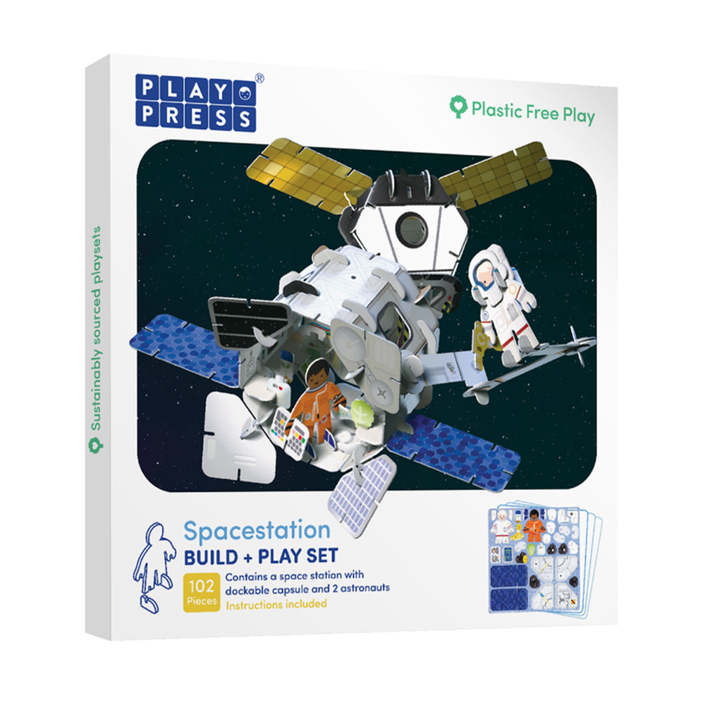 Space Station Build and Play Set
