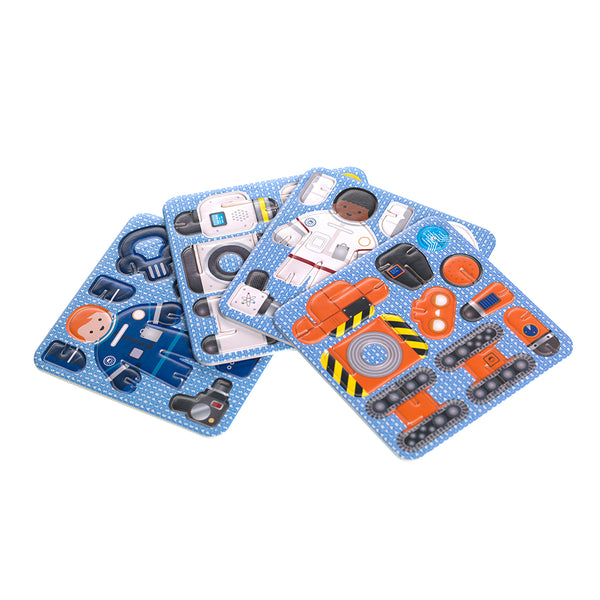Star Searchers Build and Play Set cards