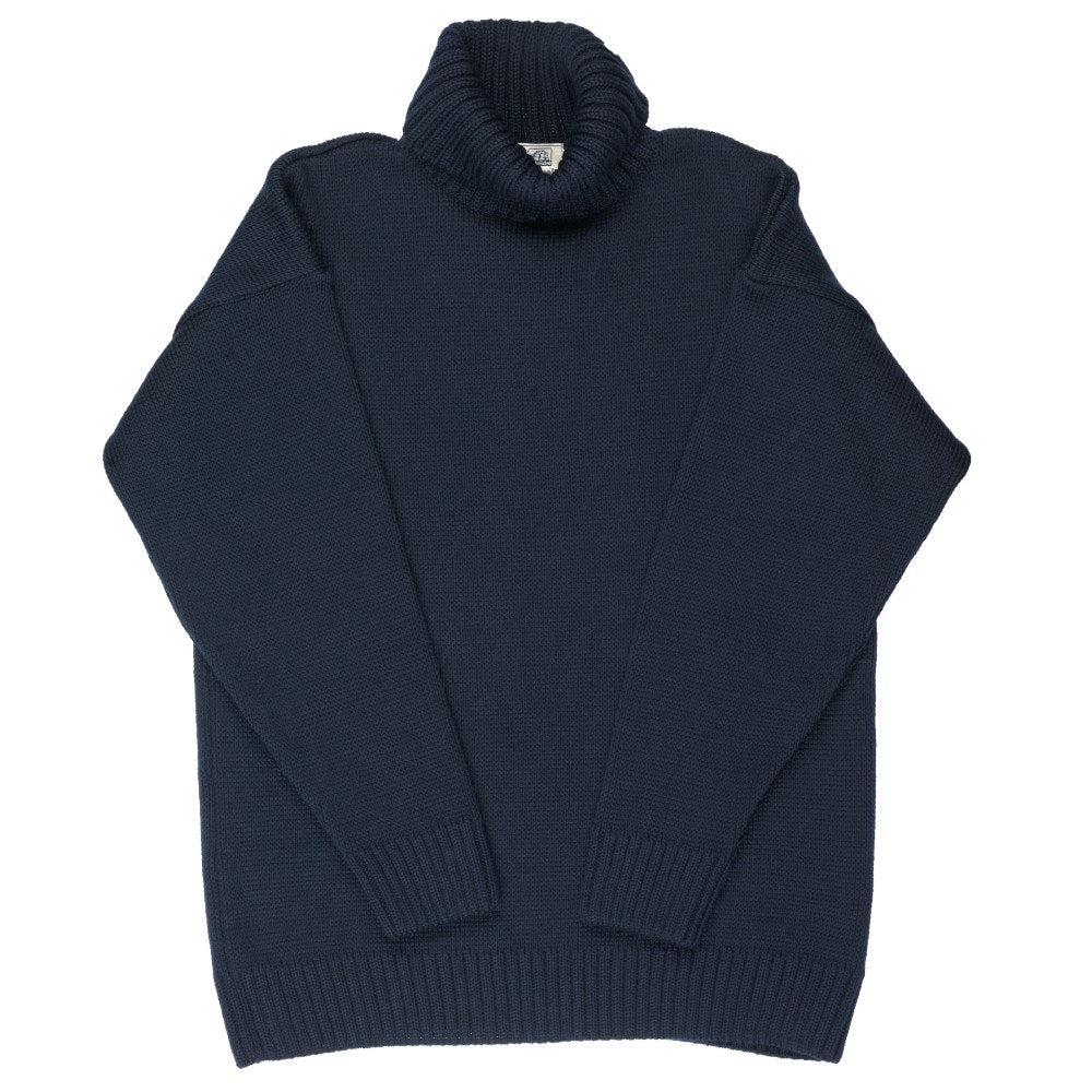 Navy Submariner Wool Sweater -