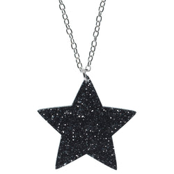 Sparkle Solo Star Necklace
