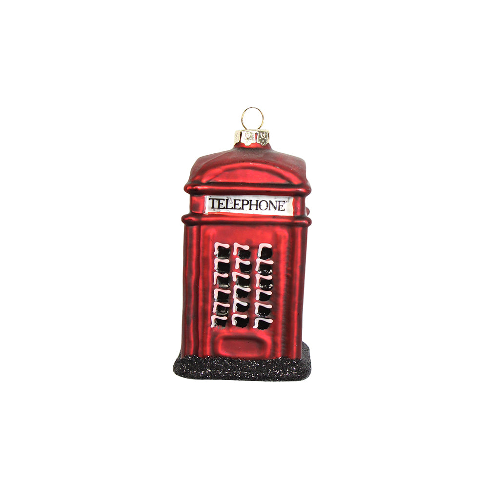 London Telephone Box Christmas Tree Decoration