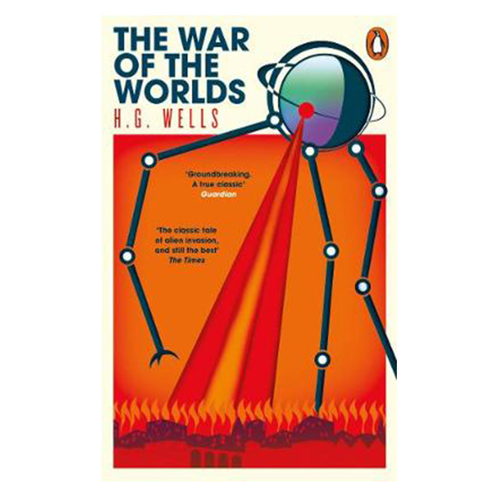 War of the Worlds by H.G.Wells book cover