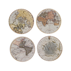 World Map Coaster